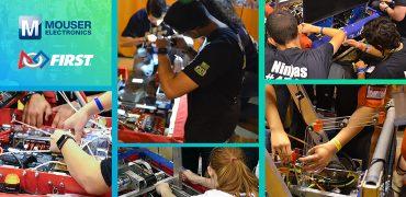 """Nuovi talenti – Mouser sponsorizza la """"FIRST Robotics Competition"""""""